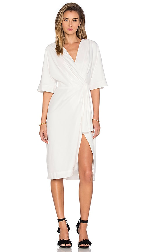 TY-LR Georgia Dress in White