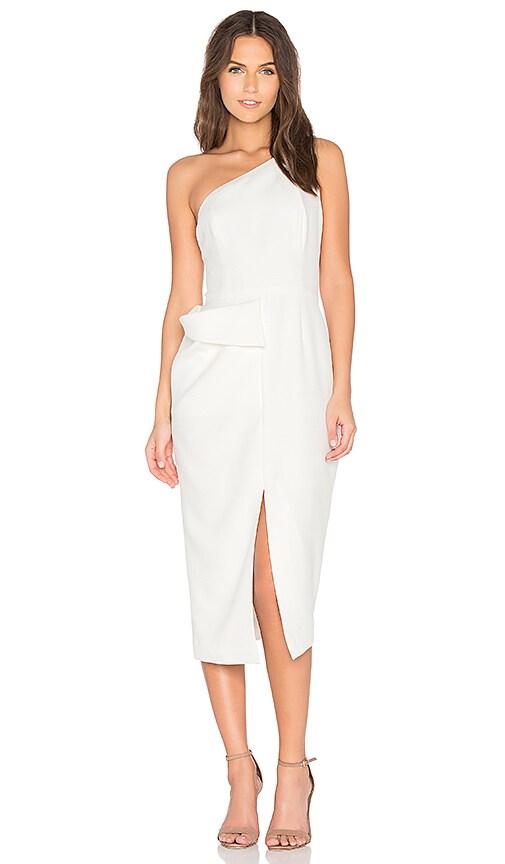 TY-LR The Sophia Dress in White