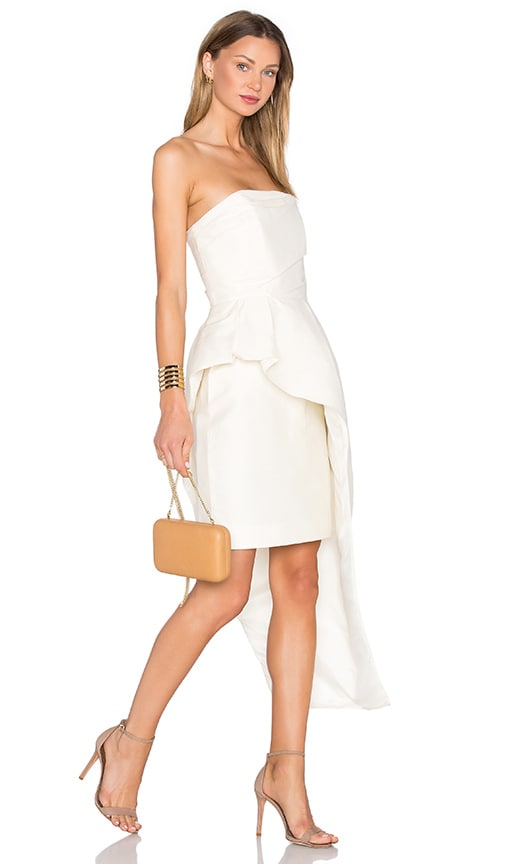 TY-LR The Alston Silk Cotton Dress in Ivory