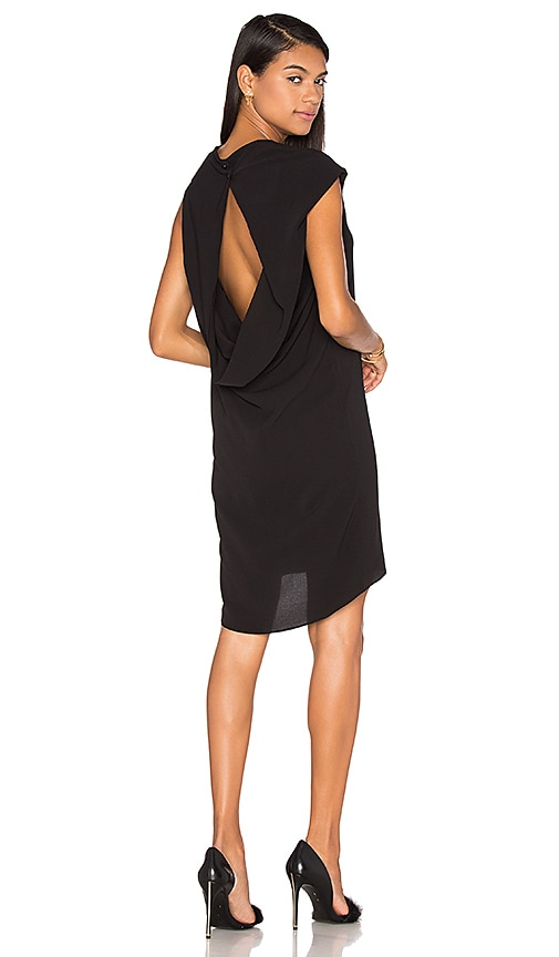 TY-LR The Ravello Dress in Black