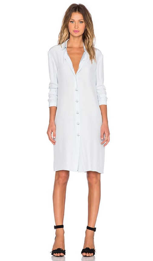 TY-LR The Horizon Trench Dress in Blue