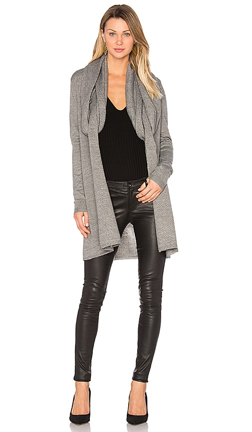 TY-LR The Fall Knit Cardigan in Grey
