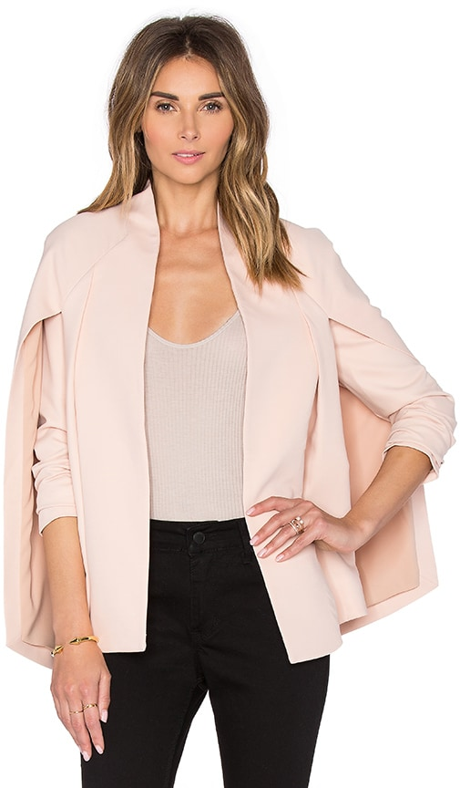 TY-LR The Elena Jacket in Blush