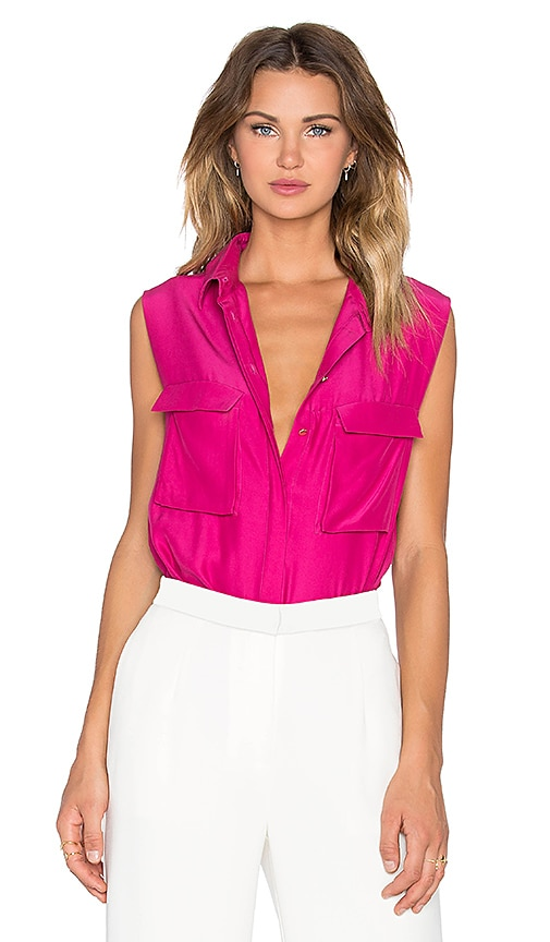 TY-LR The Elle Tank in Woaw Pink
