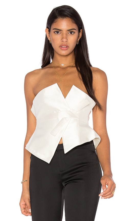 TY-LR The Andre Obi Top in Ivory