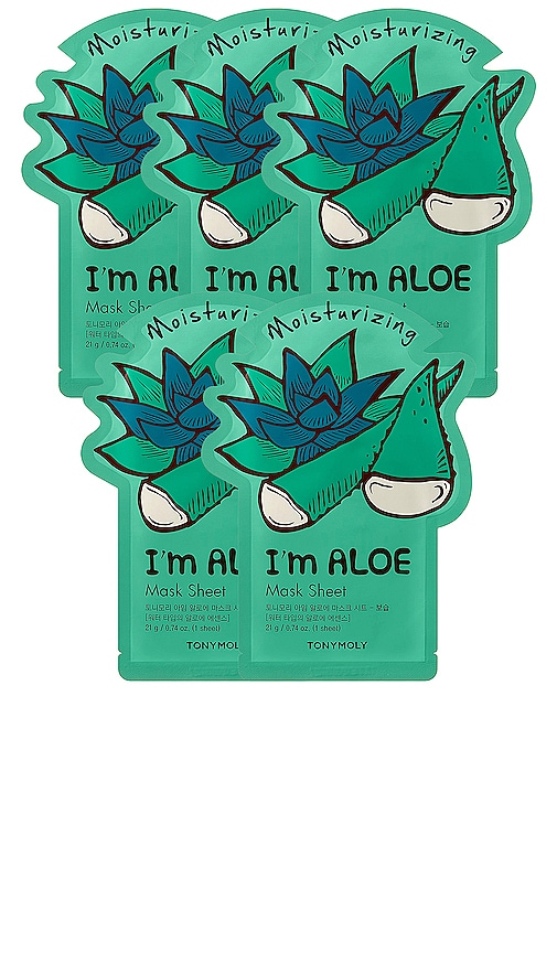 MÁSCARA DE LA HOJA I'M ALOE SHEET MASK
