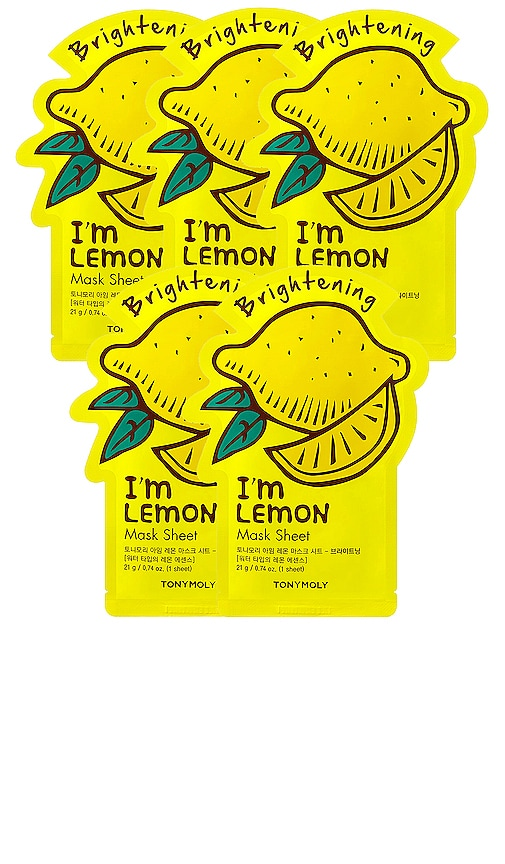 I'm Lemon Sheet Mask 5 Pack