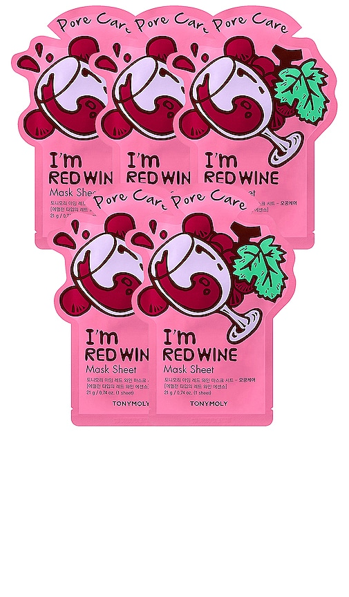 MÁSCARA DE LA HOJA I'M RED WINE SHEET MASK