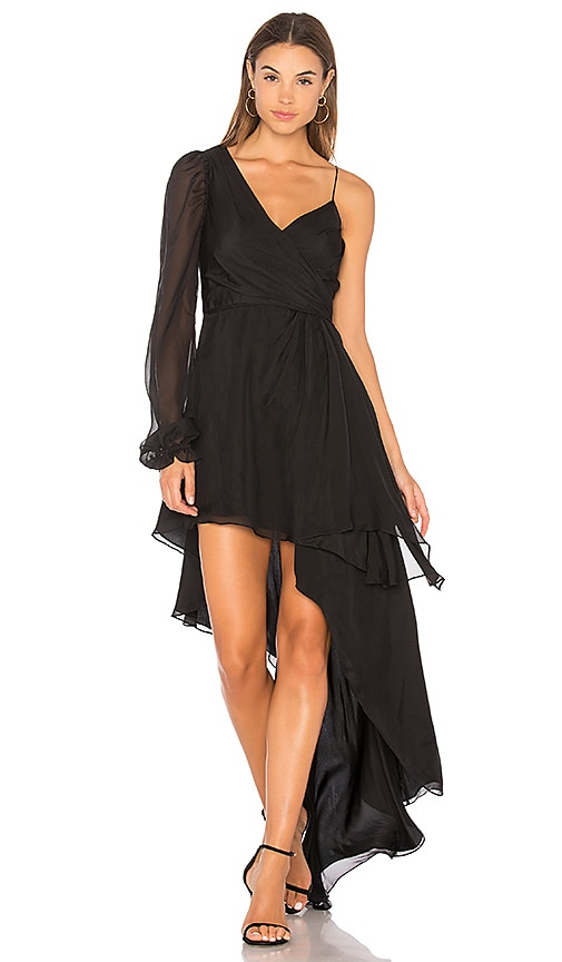 AMUR Kayla Dress in Black