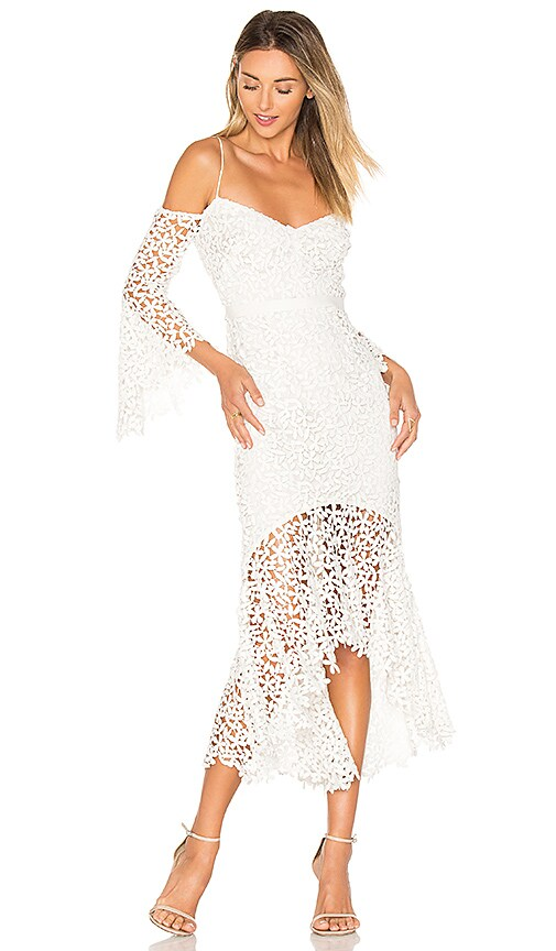 AMUR Amanda Dress in White