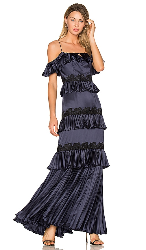 901e26ac5811 AMUR Ariel Gown in Navy