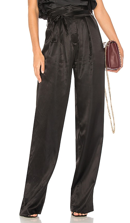 AMUR Marlene Pant in Black