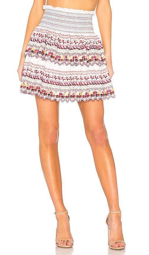 AMUR Kinsley Skirt in White