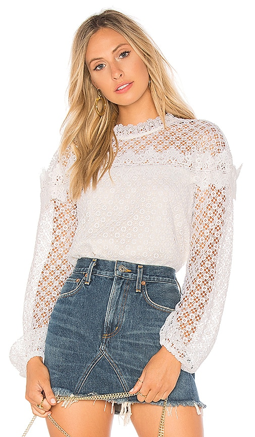 AMUR Florence Top in Ivory