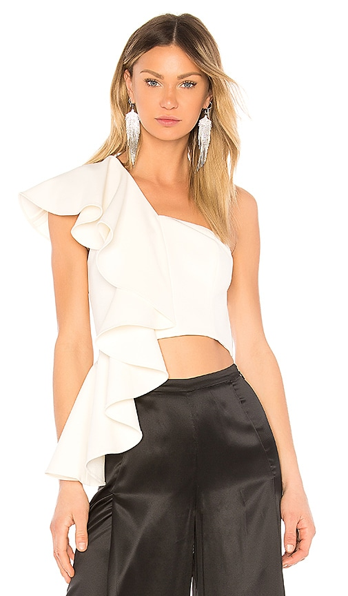 AMUR Hailey Top in White