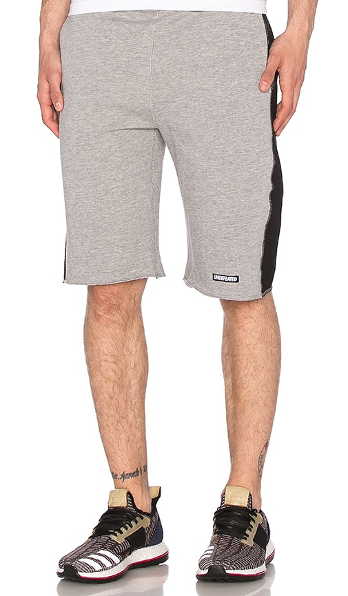 Undefeated UNDFTD Panel Short in Grey Heather