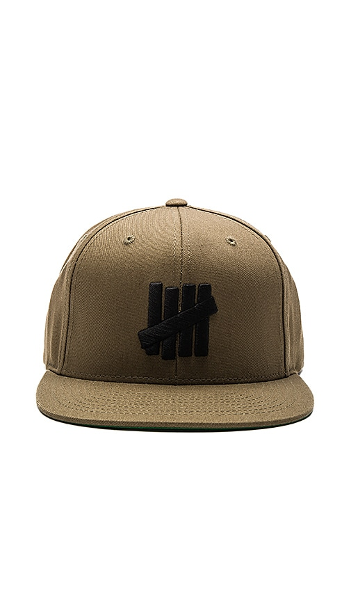 Undefeated 5 Strike SU16 Snapback in Olive