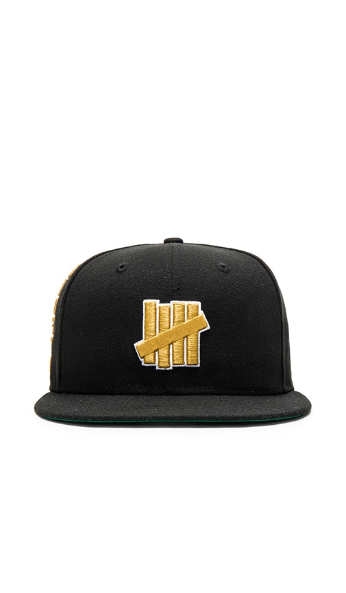 97b9144a7857c Undefeated 5 Strike New Era Cap in Black
