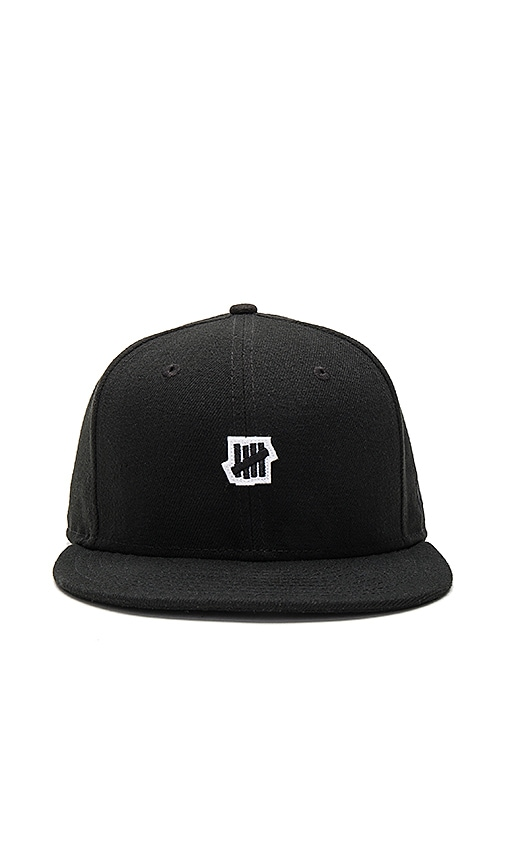 Undefeated Small 5 Strike NE Cap in Black