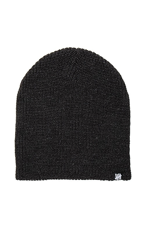 Undefeated Knit Beanie in Black