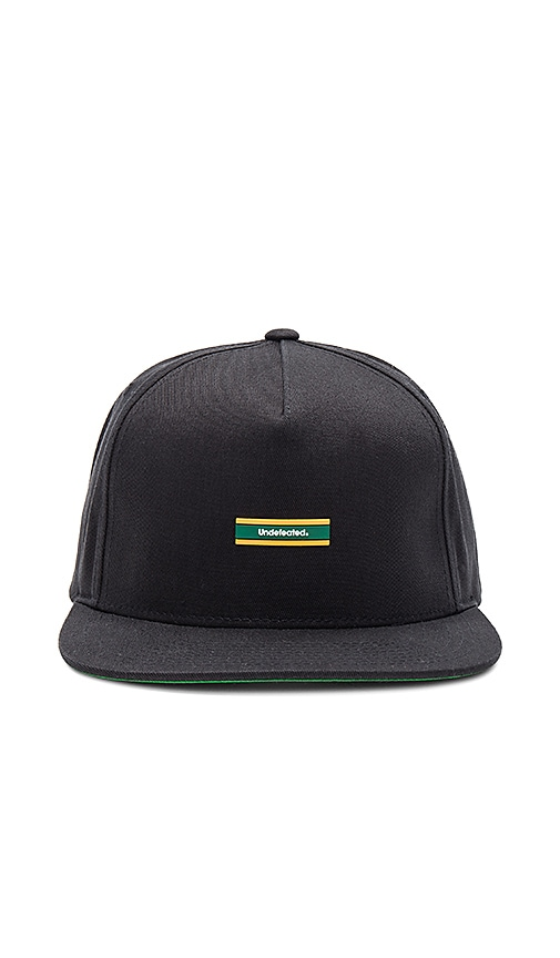 Undefeated Barspin Hat in Black