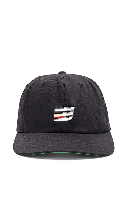Undefeated Speed Stripe Strapback in Black