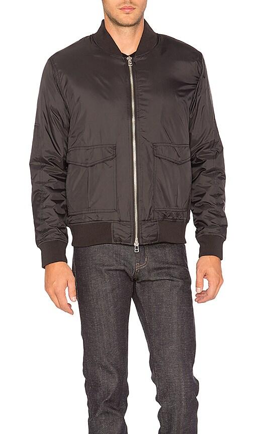 Undefeated Nylon Stratus Jacket in Black