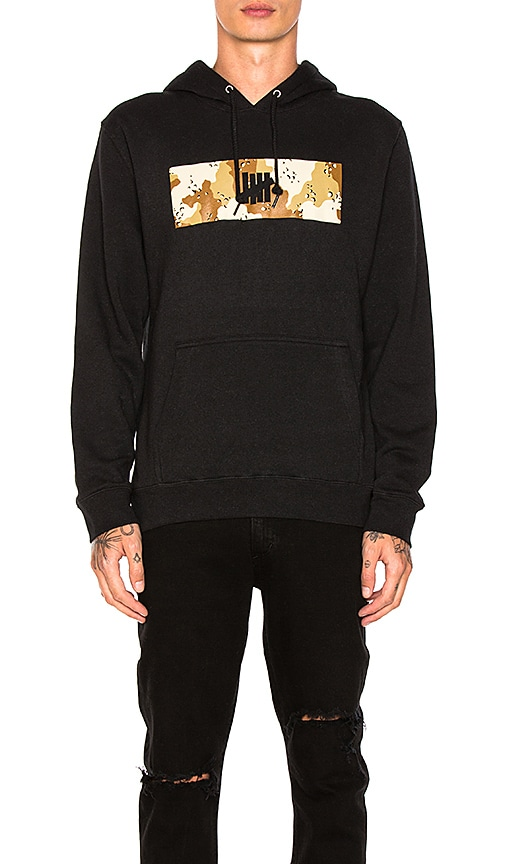 Undefeated Desert Block Hoody in Black