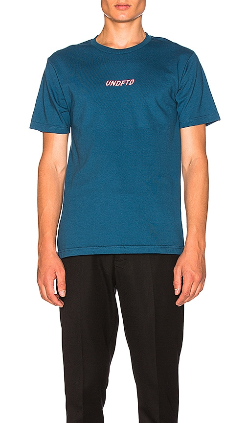 Undefeated Breakneck Tee in Blue