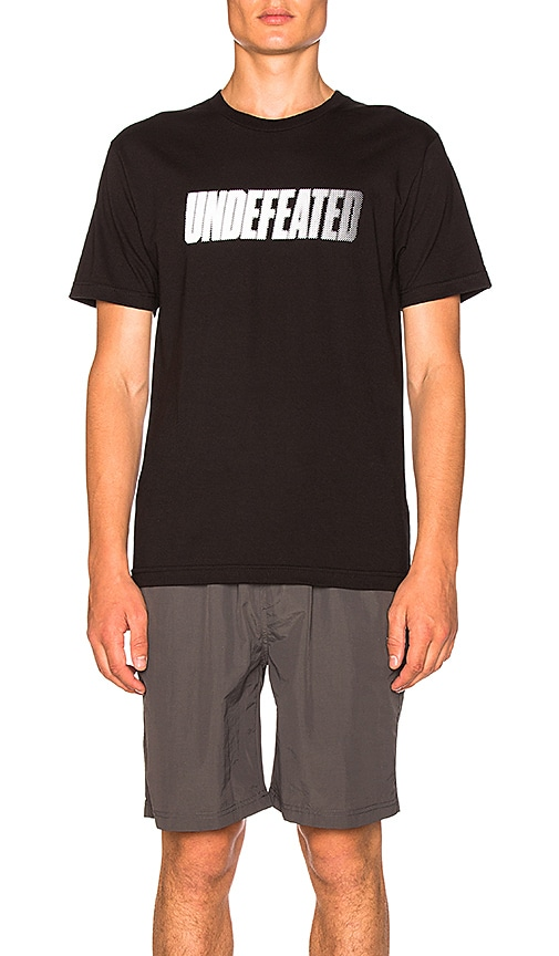 Undefeated Speed Tone Tee in Black