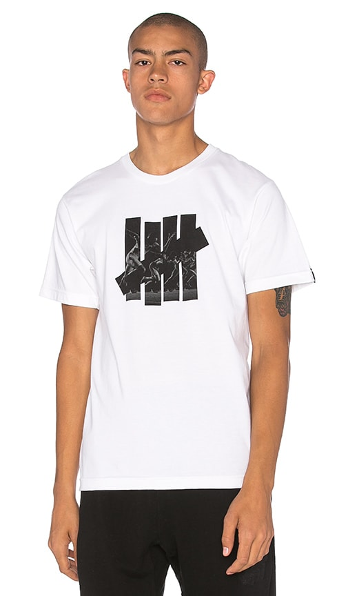 Undefeated Acceleration Strike Tee in White