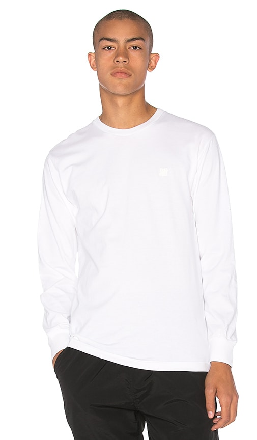 Undefeated L/S Semper Occultus Tee in White
