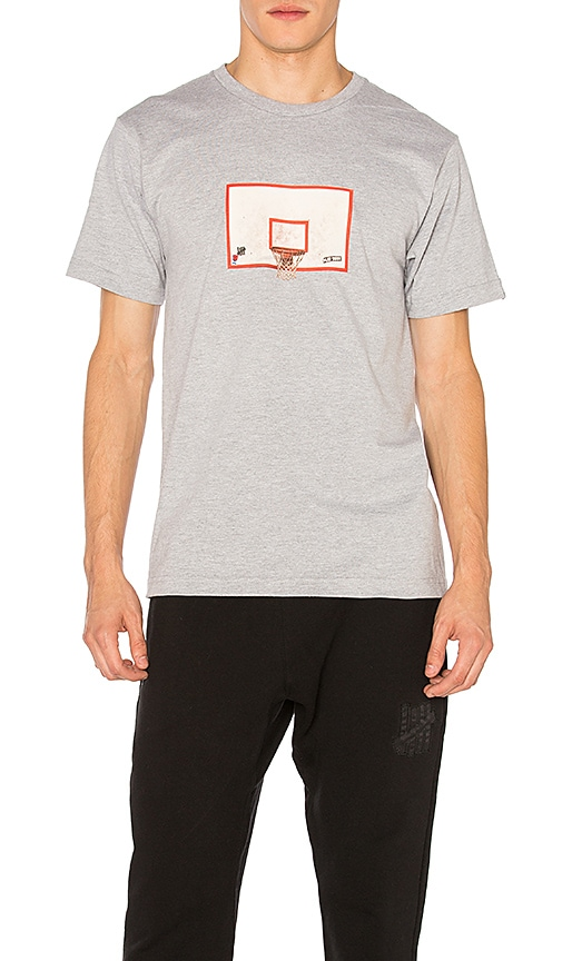 Undefeated Backboard Tee in Gray