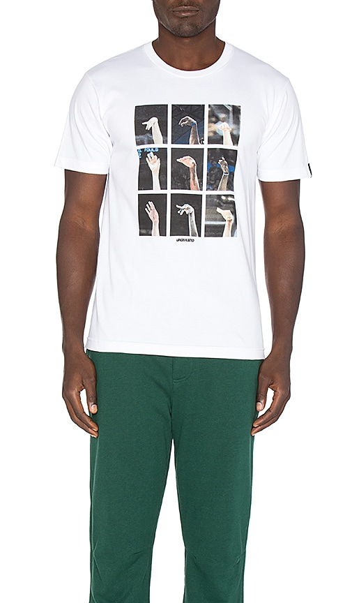 Undefeated Following Through Tee in White