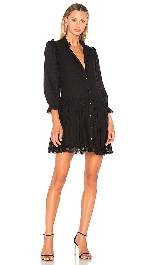 Ulla Johnson Nessa Dress in Black