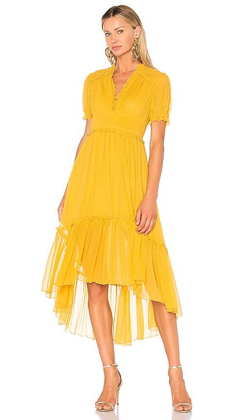 Ulla Johnson Sonja Dress in Yellow