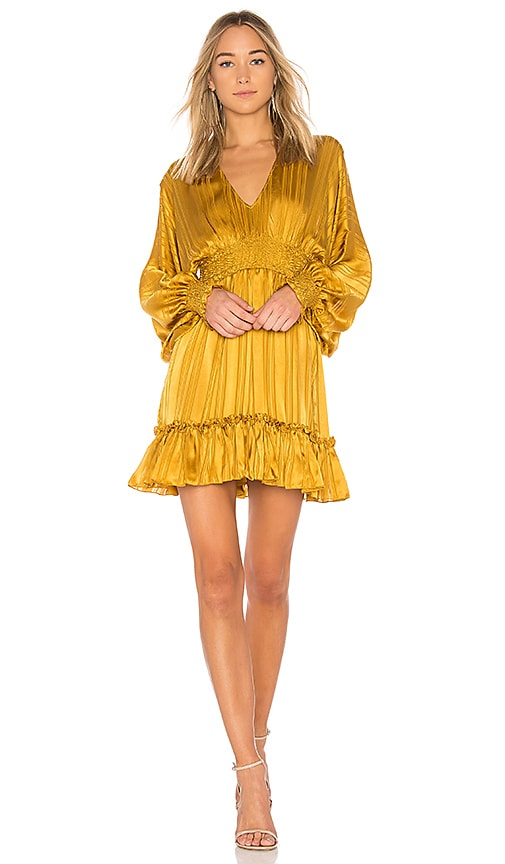 Ulla Johnson Odette Dress in Mustard