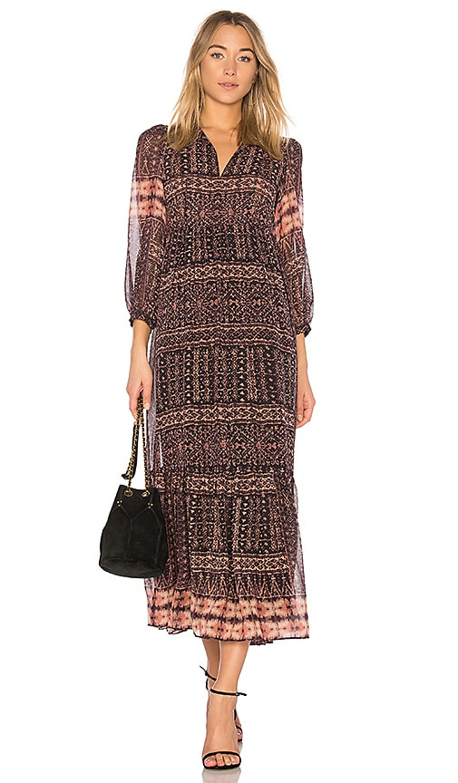 Ulla Johnson Allegra Dress in Tan