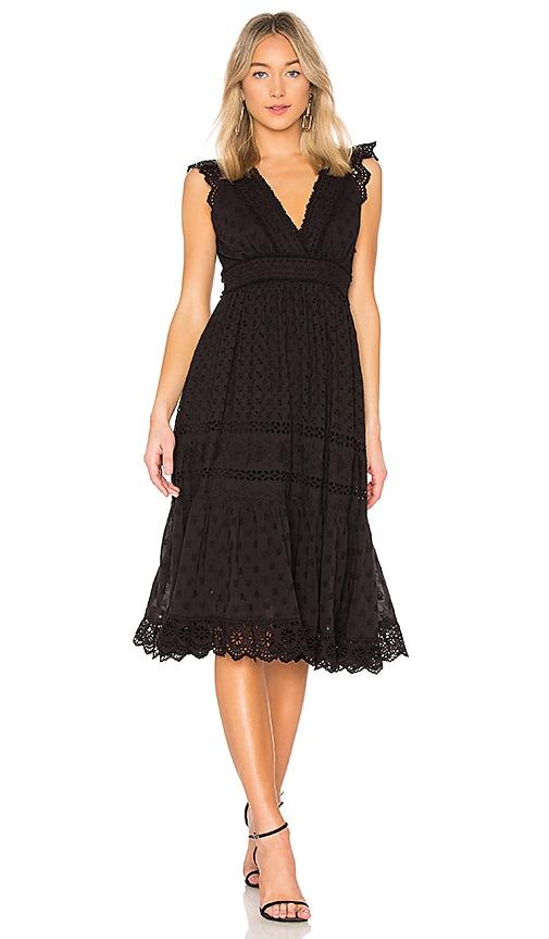 Ulla Johnson Marjorie Dress in Black