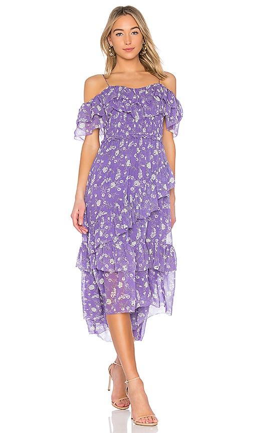 Ulla Johnson Penninah Dress in Purple