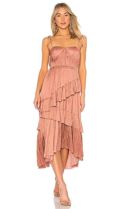 Ulla Johnson Delilah Dress in Brown