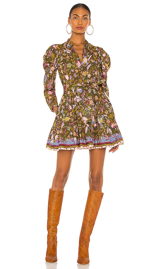 70s Dresses – Disco Dress, Hippie Dress, Wrap Dress RACHEL ZOE Rosalee Dress in Metallic Gold. - size 4 also in 02 $395.00 AT vintagedancer.com