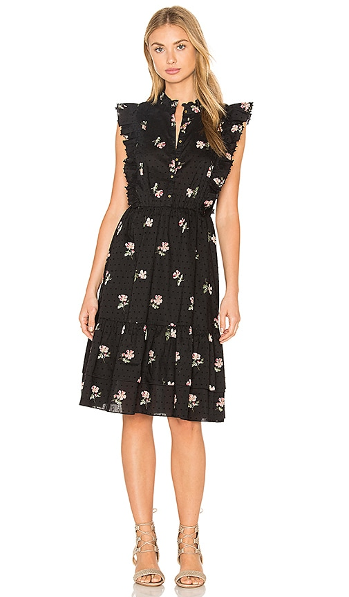 Ulla Johnson Estelle Dress in Black