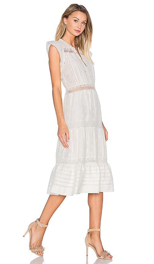 Ulla Johnson Tatyana Dress in White