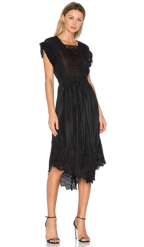 Ulla Johnson Genevive Dress in Black