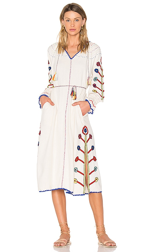 Ulla Johnson Natalia Dress in White