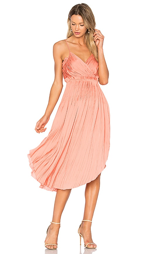 Ulla Johnson Galina Dress in Orange