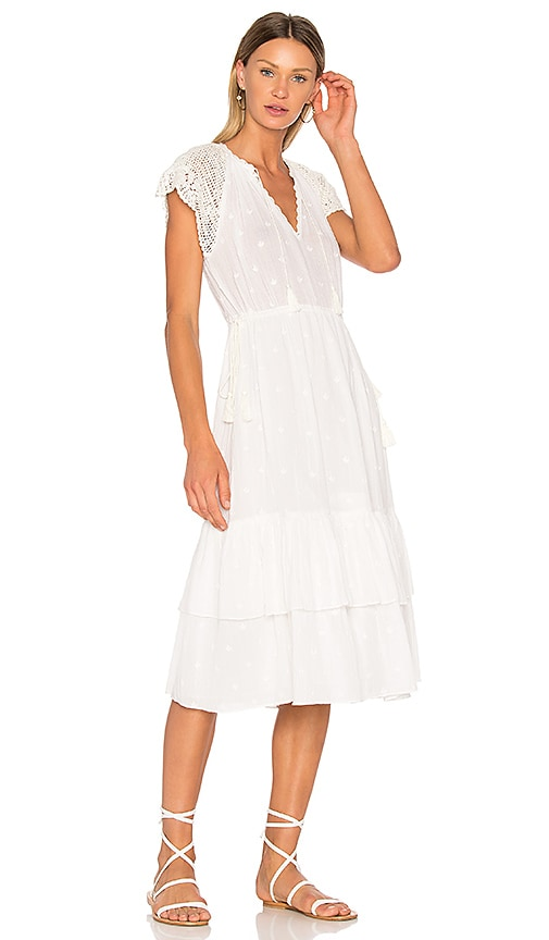 Ulla Johnson Pauline Dress in White
