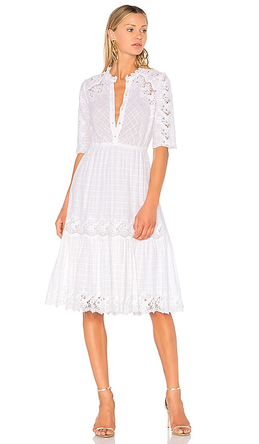 Ulla Johnson Martha Dress in White
