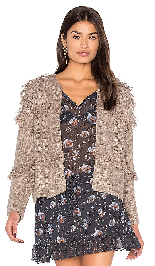 Ulla Johnson Clarabelle Cardigan in Taupe